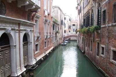 Улочки-каналы в Венеции