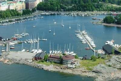 Морская гавань в Хельсинки