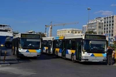 Афинские автобусы