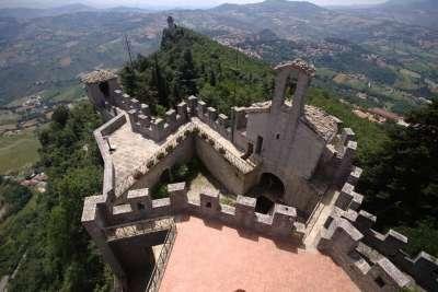 Вид со второй башни