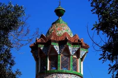 Купол павильона Гуэль