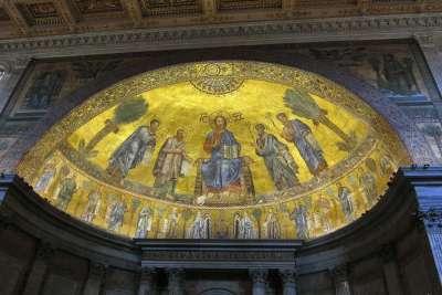 Мозаика внутри собора