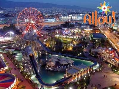 Развлекательный центр в Афинах Аllou fun park