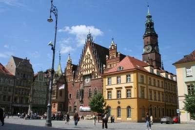 Рыночная площадь и городская ратуша