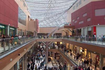 Торговый центр The Mall. Афины