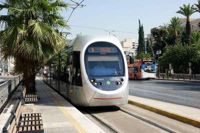 Трамвай в Афинах