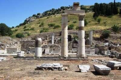 Эфес. Руины храма Артемиды