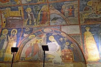 Болгарская живопись 12 века в Боянской церкви