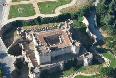 Замок Кока. Вид сверху