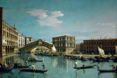 Мост на картине 17 века