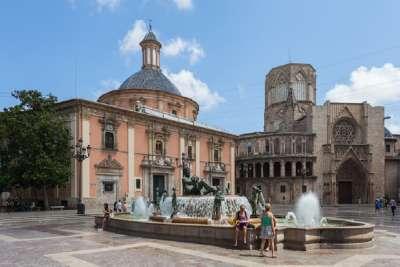Валенсия. Старая часть города