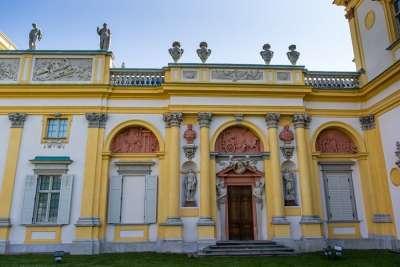 Венецианский фасад дворца