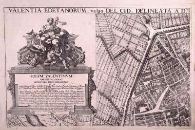 Карта Древней Валенсии