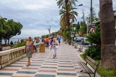 Города Лигурии. Сан-Ремо