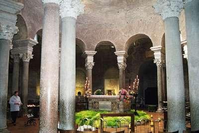Интерьер мавзолея