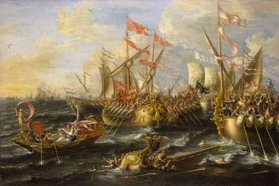 Битва Антония и Августа у мыса Аций