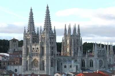 Вид на собор Бургоса