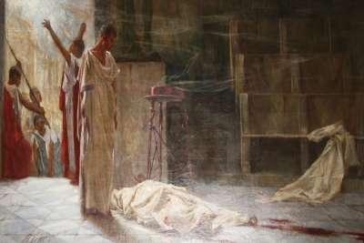 """Картина """"Марк Антоний над телом Цезаря"""""""