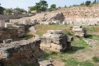 Руины Элевсина