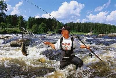 Рыбалка в Финлядндии
