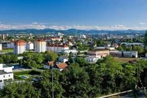 Огромный город в Австрии