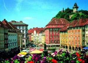 Красивейший город Грац