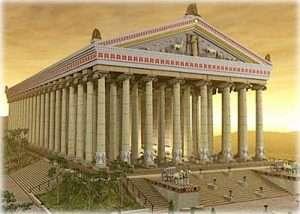 Один из красивейших храмов на Олимпе