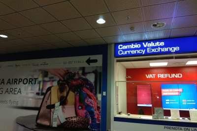 Tax Free в аэропорту Болоньи