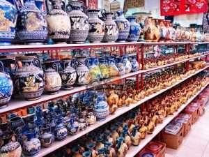Выбор сувениров в Греции
