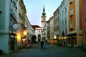 Красочный город Линц