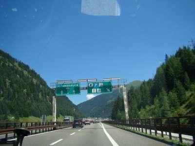 В Инсбрук на авто