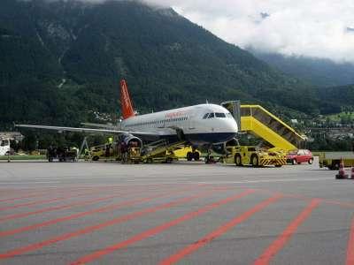 В Инсбрук на самолете