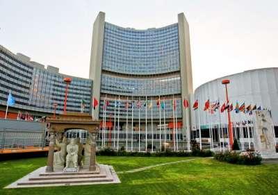 ООН Сити: украшение Вены