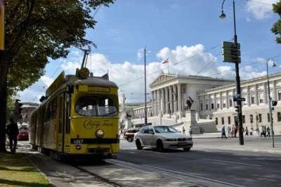 Экскурсионный трамвай по Рингу в Вене (Vienna Tram Ring)