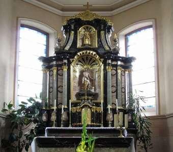 Основной алтарь Доминиканеркирхе