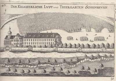 Загородная резиденция Элеоноры Гонзаги, позже ставшая Шенбрунном