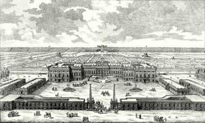 Шенбрунн в конце XVII века после перестройки
