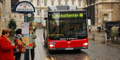 Автобусы в Вене