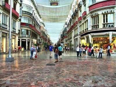 Улицы Малаги. Испания