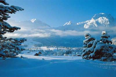 Абтенау, зима