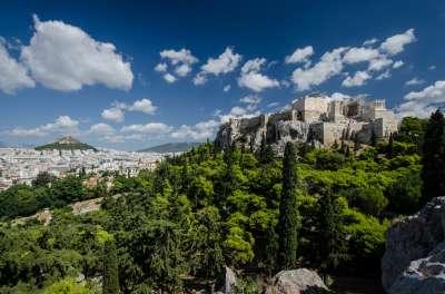 Ареопаг. Афины.