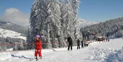 Ваграйн. Лыжня для детей