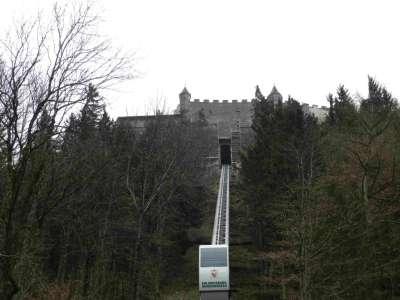 Подъемник в Замок Хоэнверфен