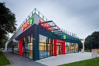Супермаркет Спар. Вена