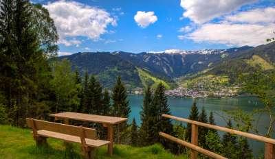 Целлерское озеро летом