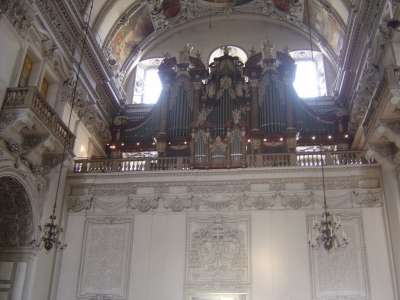 Зальцбургский собор. Орган