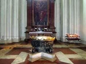 Зальцбургский собор. Купель Моцарта