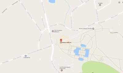 Хелльбрунн на карте