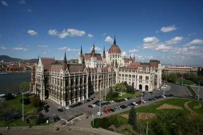 Венгерский парламент. Общий план.