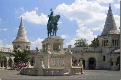 Внутри Будайской крепости